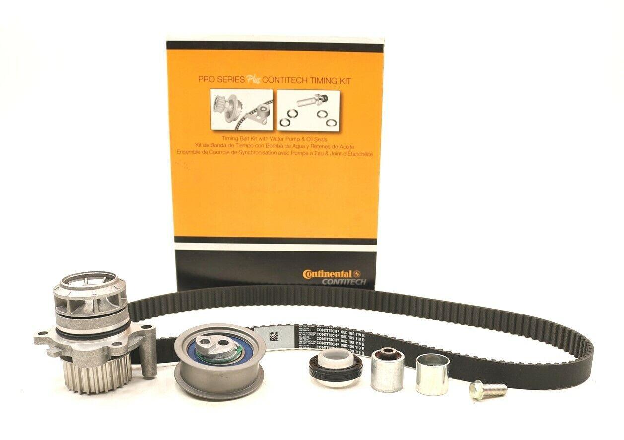 NEW Continental Timing Belt Kit w// Water Pump PP334LK1-MI VW Audi 2.0L 2005-2012