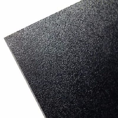 BLACK PLASTIC ABS SHEET 3//32 1 SHEET USED FOR CUSTOMER WORK ON PANELS CAR DASH+