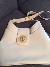 Original Gianni Versace Medusa Damen Vintage Handtasche Tasche Nude