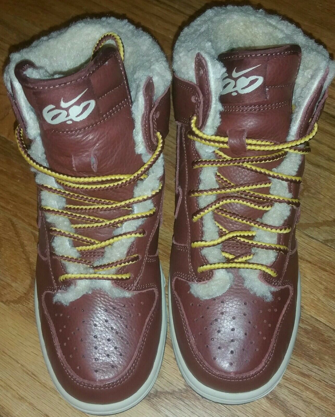 Nike dunks hi 6y oxen brown leather