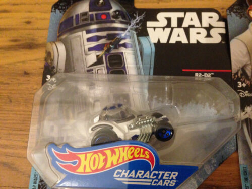 Die-Cast Hot Wheels Star Wars Disney Collectible Character Car Figures Films