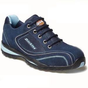 Entrenador De Seguridad Dickies Ottawa Damas FD13910 Zapatos De Trabajo Tallas 3-8