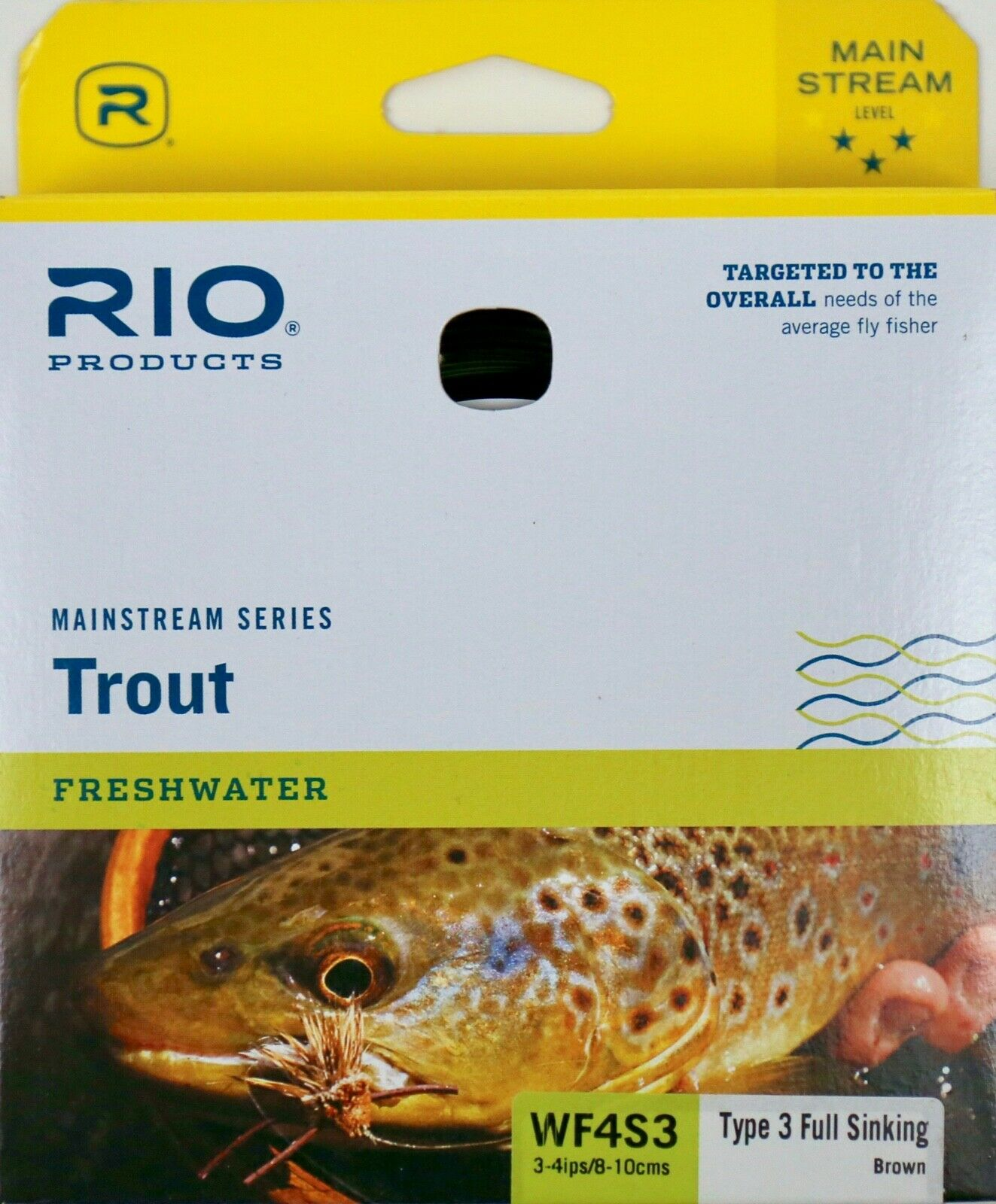 Rio Mainstream Type 3 Full Sink Fly Line WF4S3