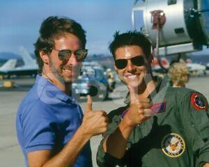 Top-Gun-1986-Tom-Cruise-Tony-Scott-034-Director-034-10x8-Photo