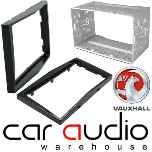 Connects2 CT23VX18 Vauxhall Astra 2004/> Double DIN Car Facia Plates Piano Black
