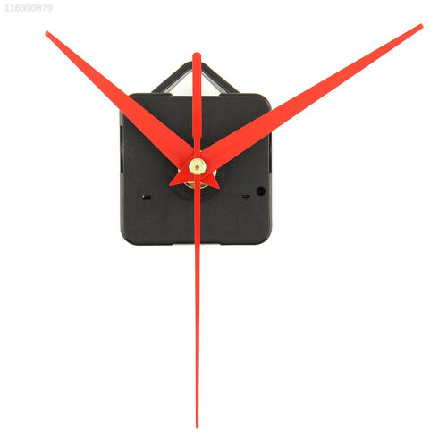 0150 7D13 Quartz Useful Clock Movement Essential Tools Set with Red Hands Silent