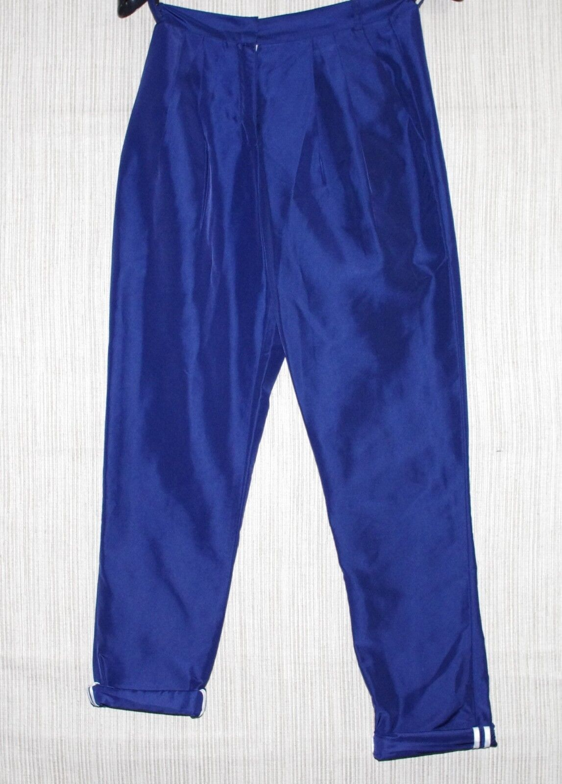 Livia Arena bluee Nylon Pleated Front Women's Pants Trousers Size  0