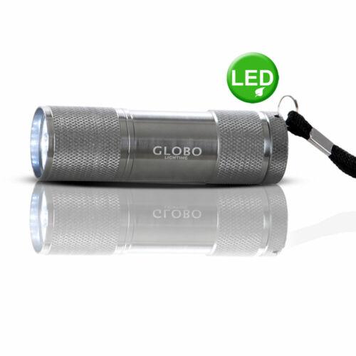 LED Alu mini lámpara de bolsillo 6000 Kelvin mano vara lámpara pequeña plata con cordel