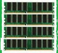 4gb PC3200 DDR 400 mhz DESKTOP MEMORY LOW DENSITY NON-ECC RAM --->>  4 X 1gb