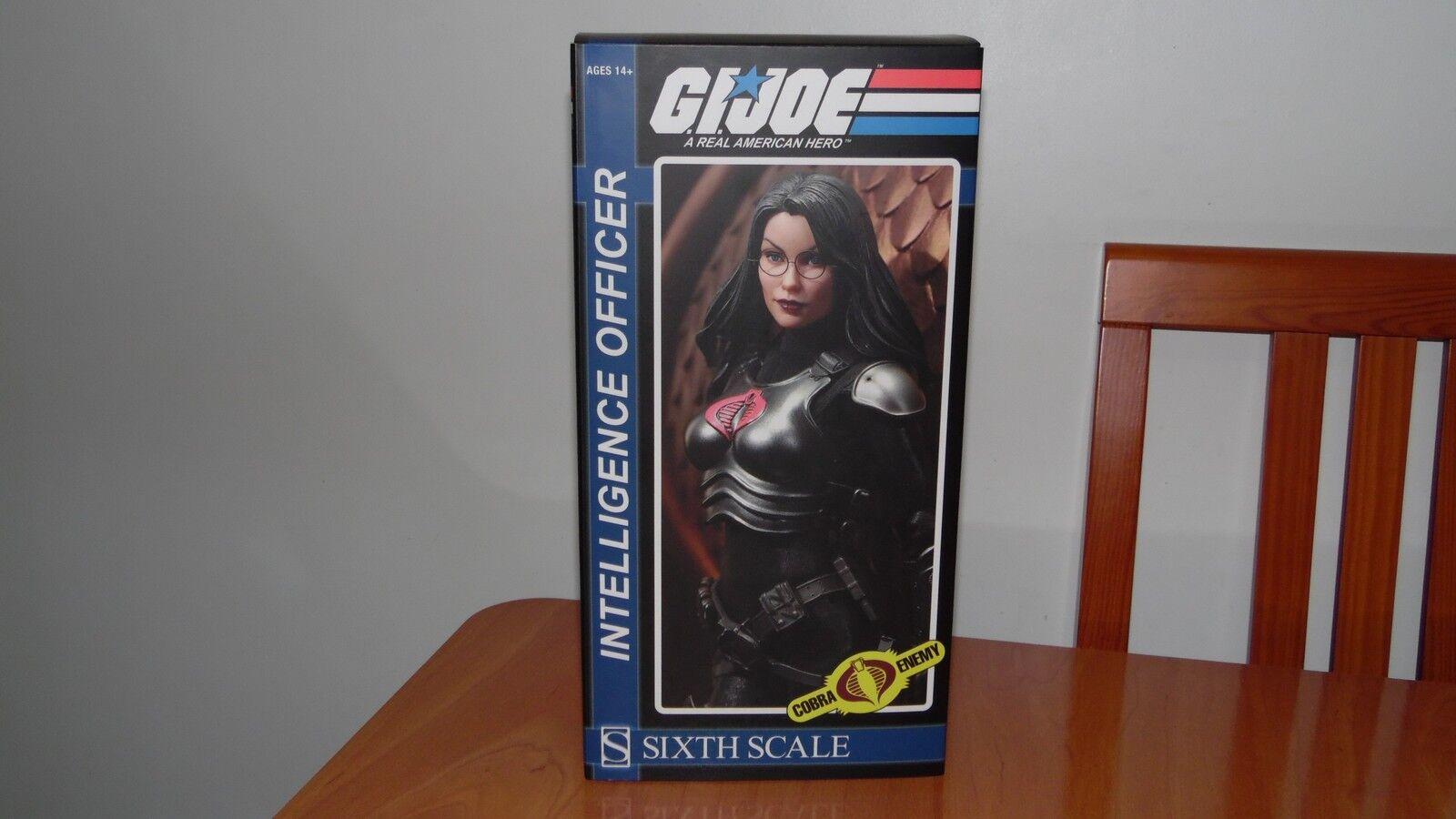 SIDESHOW GI JOE COBRA BARONESS 1 6 SIXTH SCALE (no hot toys) Empty Box