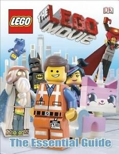 NEW-The-LEGO-Movie-The-Essential-Guide-By-Hannah-Dolan-Hardcover-Free-Shipping