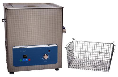 SharperTek Digital 5.3 Gallon Ultrasonic Heated Cleaner and Basket SH500-20L