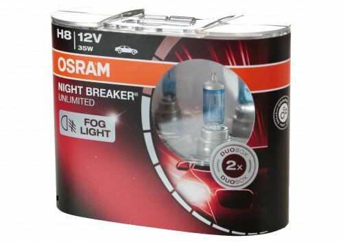 2 Stück Osram H8 NBU Night Breaker Unlimited Halogen Lampen DuoBox