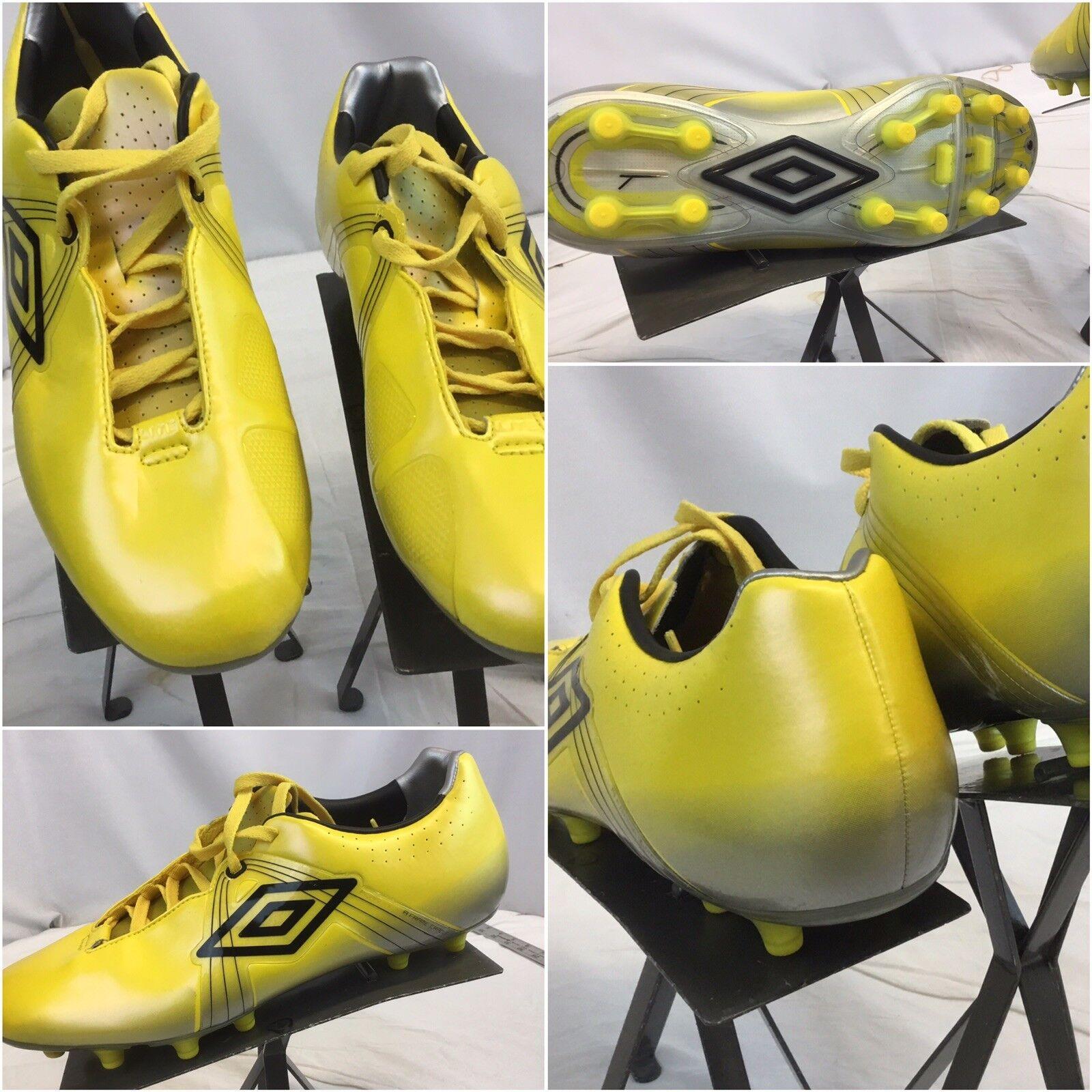 Umbro GT Pro Soccer Cleats Sz 9 giallo NWOT YGI B9S5