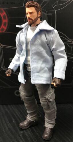 No Figure Blue shirt /& sleeveless shirt for Marvel Legends Medium Body PB-WVS