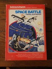 Space Battle Sears (Intellivision, 1980) Complete in Box, Works!