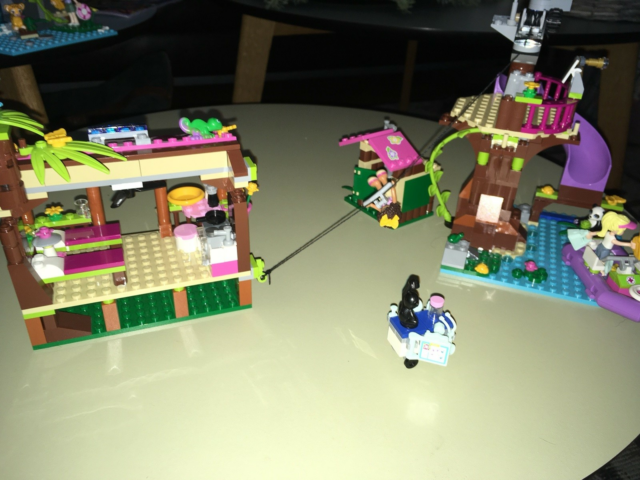 Lego Friends, 41038, Jungle redningssæt med sovesal,…