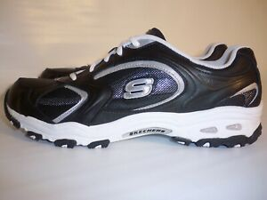 Black/Silver Running Shoes Men's US10 w