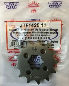 JT-13-Tooth-FRONT-Sprocket-fits-Suzuki-GSXR125-GXS-S125-2017-to-2019