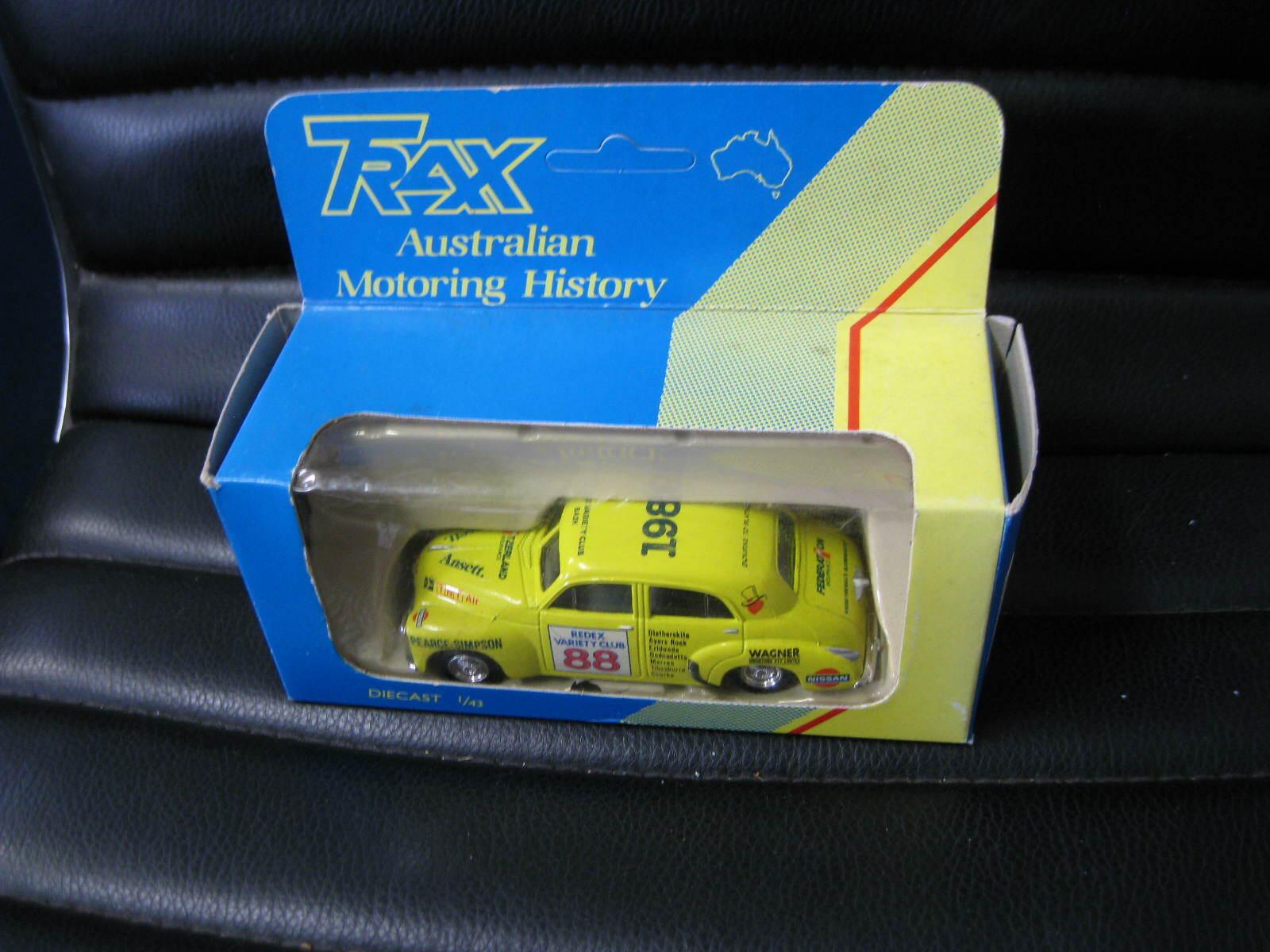 TRAX 1/43 HOLDEN FJ SEDAN 1988 REDEX BASH #88 VARIETY CLUB OF AUSTRALIA  8001 B