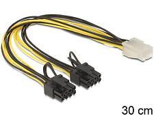 DELOCK cable PCI Express de alimentación 6 pin hembra > 2 x 8 pin enchufe 83433
