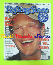 ROLLING STONE USA MAGAZINE 735/1996 Dave Letterman Junkie Town Will Oldham No cd