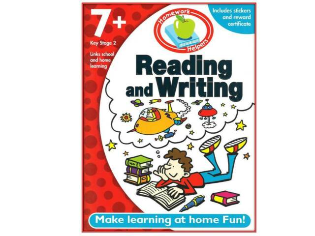 Homework Helper First Learning Reading & Writing 7+ NEW Key Stage 2 Educational