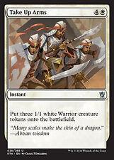 Take Up Arms  NM  x4  Khans of Tarkir    MTG Magic White  Uncommon