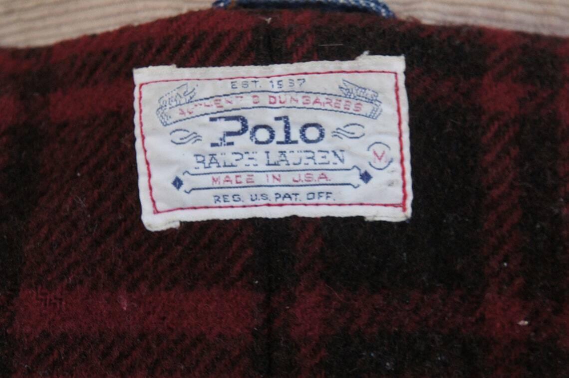 Vintage 80s Men's Ralph Lauren Polo Jean Jacket - image 8