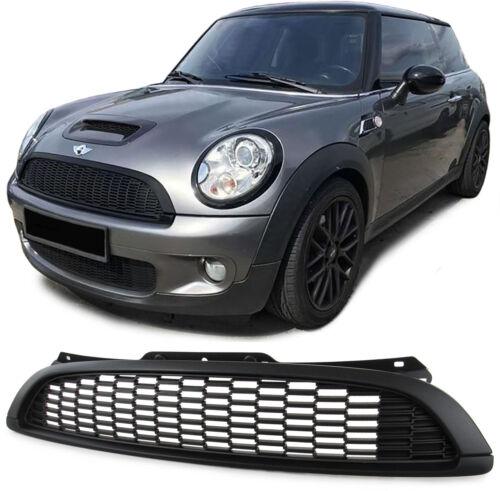 Sport calandra s piel negro mate para Mini Cooper r55 r56 r57 r58 06-13
