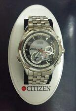 citizen G900/9000 st-steel ecodrive tourbillon calendar perpetual 1GMT