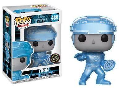 Funko POP! Disney Movies: Tron (GITD) [CHASE] #489 Vinyl Figure 14700 IN STOCK