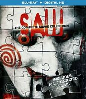 Saw: The Complete Movie Collection [blu-ray], New, Free Shipping on sale