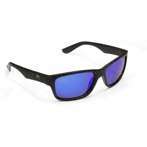 FOX RAGE Camo Sunglass Frame//Grey Lens Mirror Blue