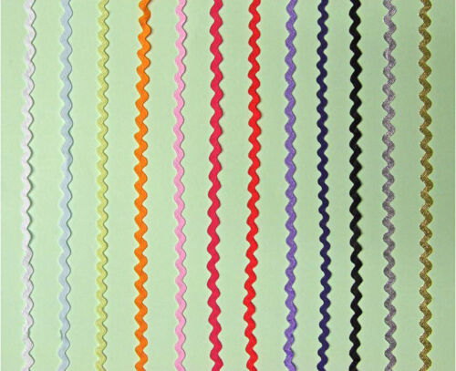 Ric Rac Jumbo 13mm Braid Trimming  21 Colours Listed cut to order