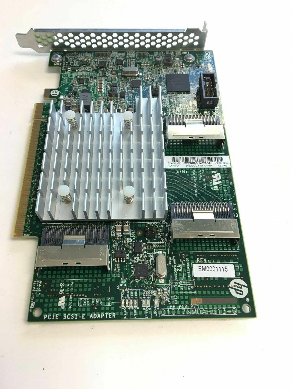 HP 824019-001 PCI-E Bridge Board 708724-001