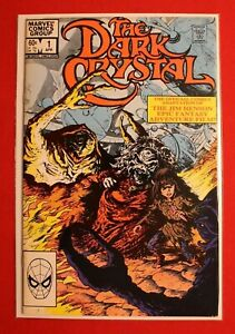 The-Dark-Crystal-Vol-1-Issue-1-1983-Marvel-Comics-Jim-Henson-Epic-Fantasy-Film
