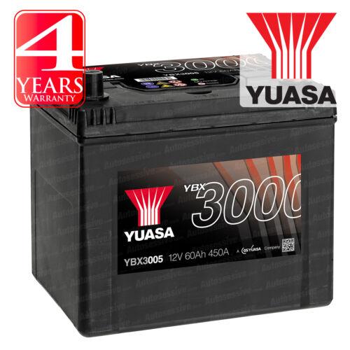 Yuasa Car Battery Calcium 12V 450CCA 60Ah T1 For Hyundai i30 1.6 CRDi 110