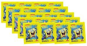 Topps Spongebob Sticker 20 Tüten Sticker /& Stickerkarten