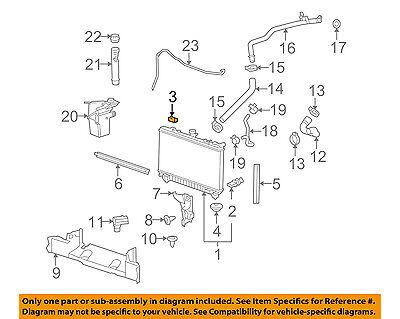 Chevrolet GM OEM 12-15 Camaro 6.2L-V8 Radiator-Vent Hose 22962567