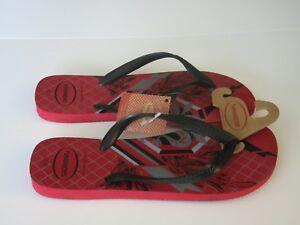 3935b53625d38a Havaianas 13 Men s Surf Flip Flops Sandals Shoes Bravo Red Black ...