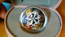 Canada 2014 Royal Winnipeg Ballet 75th $20 Pure Silver Color Proof in Music Box