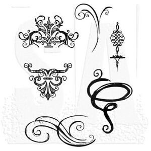 Tim-Holtz-Stampers-Anonymous-Sketch-Elements-Unmounted-Rubber-Stamp-Set-CMS054