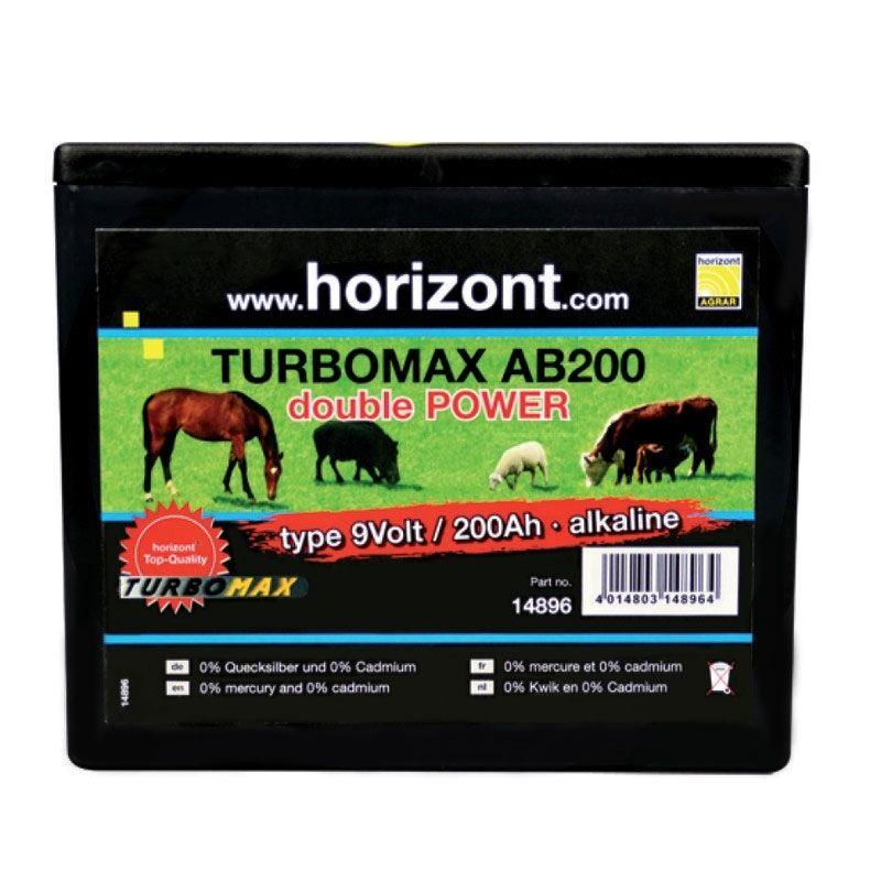 Horizonte seco batería ab200 9v, 200 ah, 13x16, 2x19 CM, 56410619 y 56410661