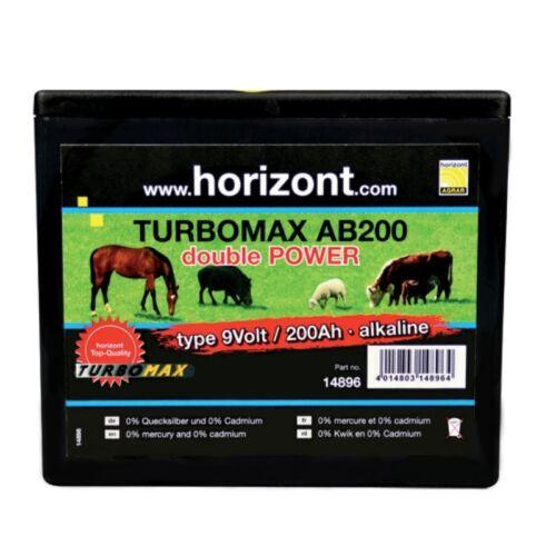 Horizont Trockenbatterie AB200 9V 13x16 56410619 und 56410661 2x19 cm 200 Ah