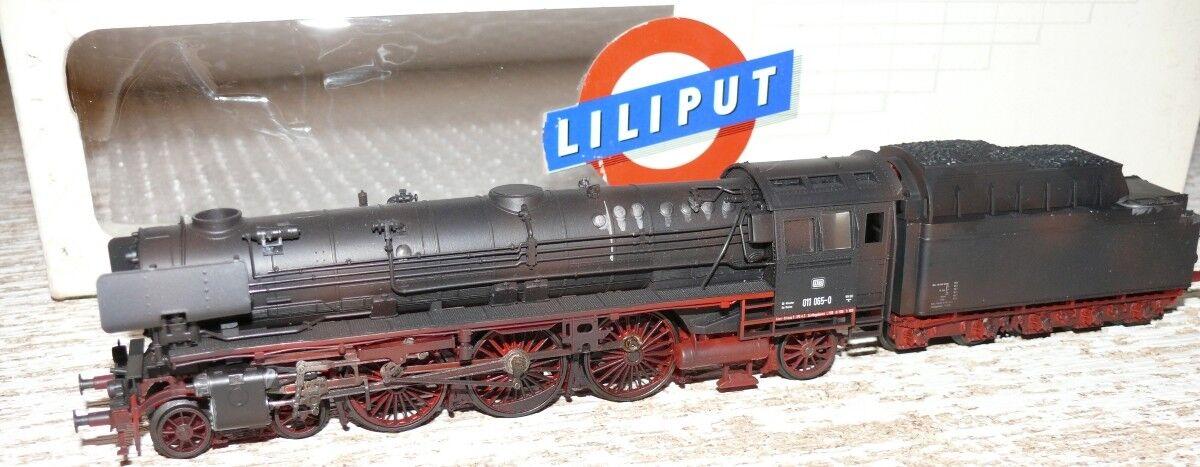 K23    Liliput 101 99 Dampflok BR 011 065-0 DB gealtert A c Wechselstrom