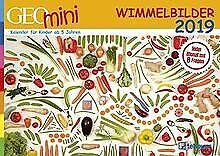 Wimmelbildkalender-2019-GEO-Mini-Buch-Zustand-sehr-gut