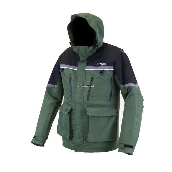 nuevo 2019 almeja ICE Armor Ascent Flotador Parka-verde Negro-M 12072