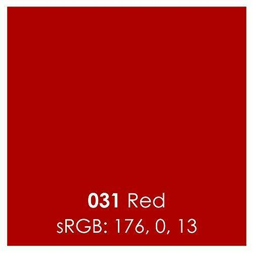 Red#54 Oracal 751 Premium Cast Vinyl 12 Inches by 6 Feet