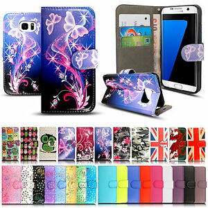 FOR-SAMSUNG-GALAXY-S9-S8-LEATHER-WALLET-BOOK-FLIP-PROTECT-CASE-STAND-PHONE-COVER